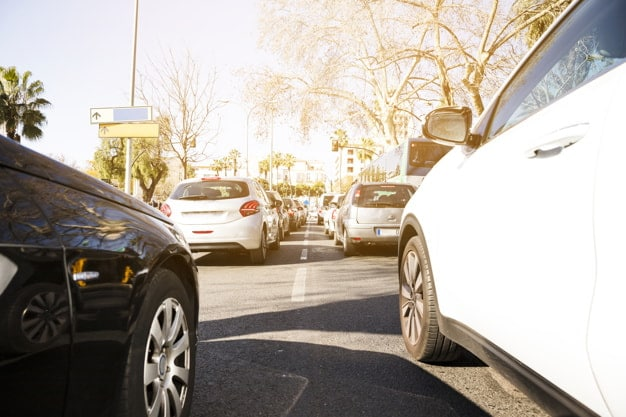 Kőfelverődés javítás forgalom képe
